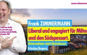 Frank Zimmermann, Landtagskandidat updated their cover photo